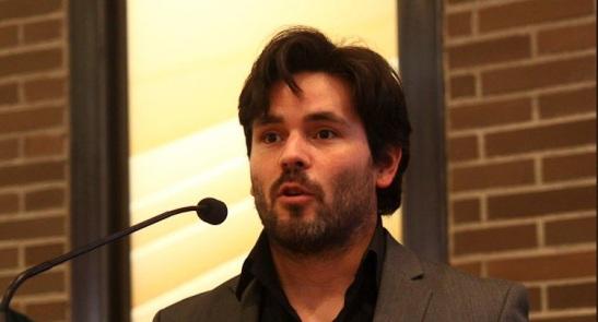 En la gala de los premios Revista de Letras 2011 en la librería Bertrand de Barcelona