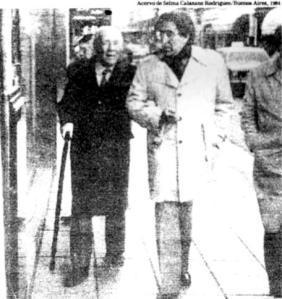 Borges y Monegal en Buenos Aires (1984) - (Wikiperdia)